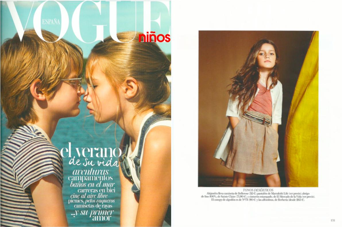 Cinturones Ethnos de El Mercado de la Vida en Vogue Niños